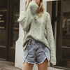 """Kalyani"" Vintage Cable Knit Sweater - 2 Love One"