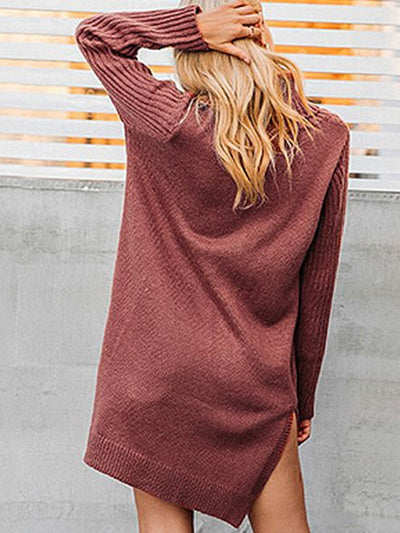 Kelsey Cowl-Neck Knit Dress - 2 Love One