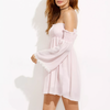 Lexi Cuff Bardot Smocked Swing Dress - 2 Love One