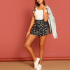 Maya Tie-Waist Floral Shorts - 2 Love One
