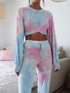 Mia Tie Dye Two-Piece Lounge Set | 2 Love One
