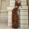 Oh My! Leopard Print Two-Piece Jumpsuit - 2 Love One