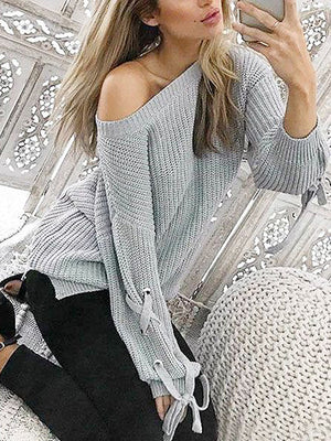 Phoebe Sweet Lace Knit Top - 2 Love One