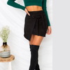 Rocha Sash Suede Mini Skirt - 2 Love One