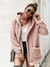 Rosé All Day Plush Hooded Jacket