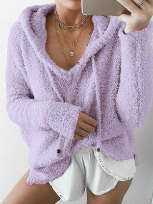 Shalice Fluffy Hoodie - 2 Love One