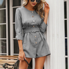 Sienna Gray Blazer Playsuit - 2 Love One