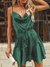 Vintage Green Polka Dot Dress