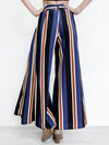 Willa Stripe Slit Flare Pants - 2 Love One