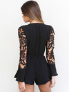 Zendy Lace Sleeves Playsuit - 2 Love One