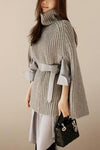 Joni Knit Poncho Top - 2 Love One