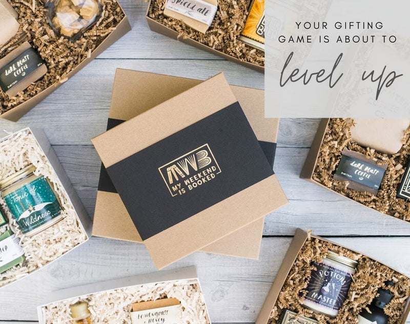 My weekend is Booked: Soy Candles and Custom Gift Boxes