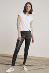 Berdine Faux Leather Leggings
