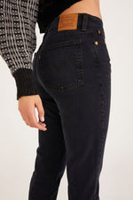 Black Wedgie Icon Fit Jeans