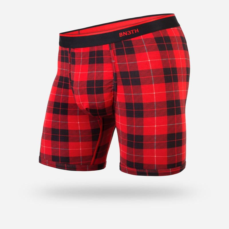 "Fireside Plaid Red Classic 6.5"" Boxer Brief"