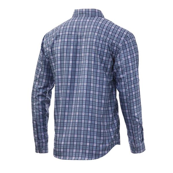 Tide Point Fish Plaid Long Sleeve