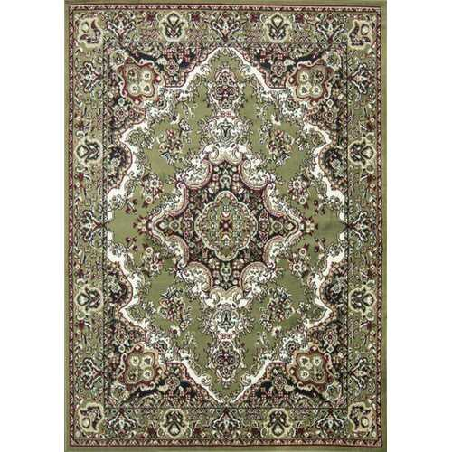 Oriental Classic Green/Black Area Rug