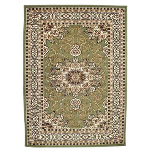 Ritual Green/Brown Area Rug
