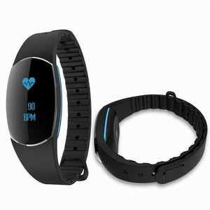 SH09U Heart Rate Monitor Waterproof IP68 bluetooth Pedometer Smart Wristband for Mobile Phone