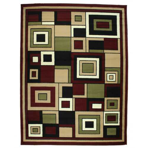 Plaza Red Indoor Area Rug