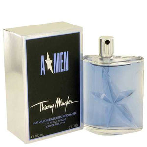 ANGEL by Thierry Mugler Eau De Toilette Spray Refill 3.4 oz (Men)