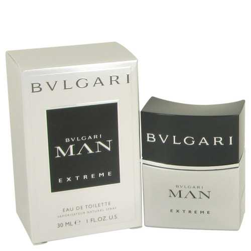 Bvlgari Man Extreme by Bvlgari Eau DE Toilette Spray 1 oz (Men)