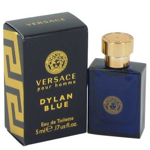 Versace Pour Homme Dylan Blue by Versace Mini EDT .17 oz (Men)