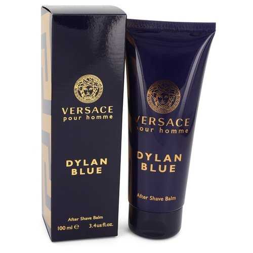 Versace Pour Homme Dylan Blue by Versace After Shave Balm 3.4 oz (Men)