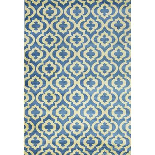 La Brea Light Blue Area Rug 5 ft. by 7 ft.