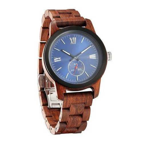 Men Handcrafted Engraving Kosso Wood Watch - Best Gift Idea!