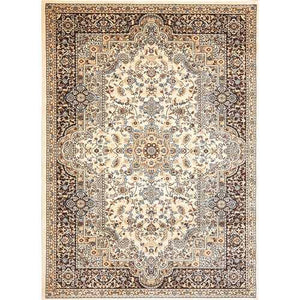 Msrugs Traditional Oriental Medallion Brown Beige Area Rug Persian Style Rug 400