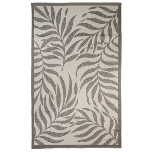 Botanical Indoor/Outdoor Light Gray Rug