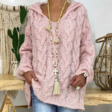 SHUJIN Sexy Deep V-neck Twist Knitted Sweaters Women Solid Pullovers 2020 Autumn Winter Oversize Warm Tops
