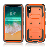 Heavy Duty Holster Belt Clip Shockproof Phone Case For iPhone 11 Pro Max XR X XS Max 360 Full Protective Screen Protector Cover