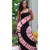 BOHISEN African Dresses For Women Plus Size 5XL Bazin Ankara Dresses Sleeveless Print African Print Clothes For Women