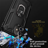 Luxury Armor Shockproof Phone Case For iphone 5 5S SE XS Max 11 Pro XR X 7 8 6 6s Plus Full Cover Car Magnetic Ring Bumper Cases