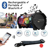 New Outdoor Portable Subwoofer Column Bluetooth Speaker Wireless Powerful Sports Speakers Radio FM Mp3 player Scalable 	SL-10