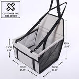 CAWAYI KENNEL Travel Dog Car Seat Cover Folding Hammock Pet Carriers Bag Carrying For Cats Dogs transportin perro autostoel hond