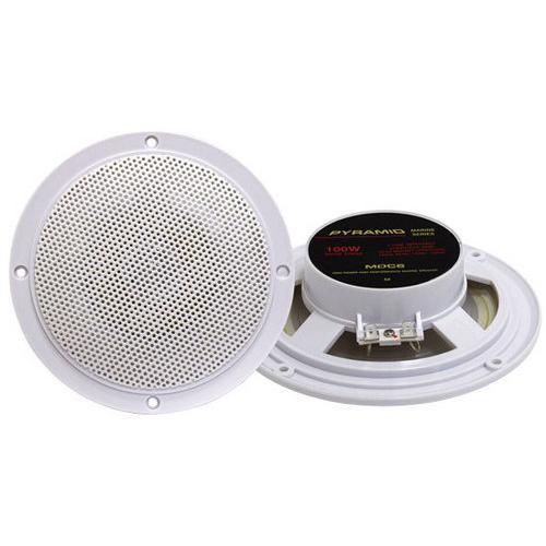 5.25'' Marine 100 Watts Dual Cone Waterproof Stereo Speakers