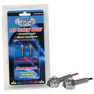 Pyle Lite Series Multi Colored LED Screw Light