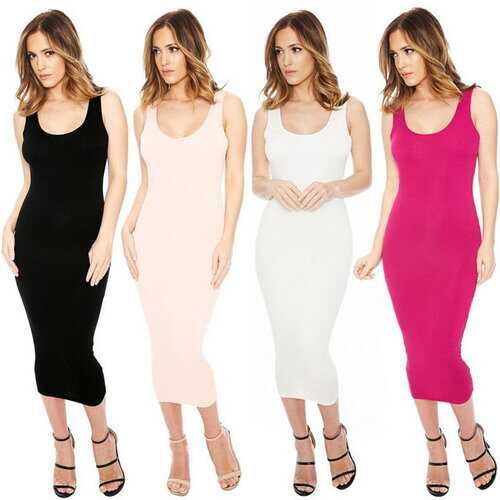 Best Selling European Station New Strap Sexy Dress Nightclub Open Back Skirt
