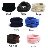 4 In 1 Winter Sports Thermal Fleece Scarf Snood Neck Warmer Face Mask Beanie Hat