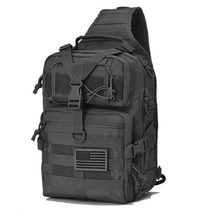 Actical Sling Bag Pack Military Rover Shoulder Sling Backpack EDC Molle Assault Range Bag Everyday out Carry Diaper Bag Carry Bag Small Dyt-003