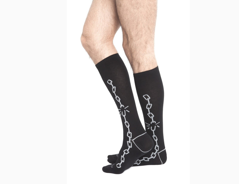 Broken Chain Mens Socks by Emilio Cavallini
