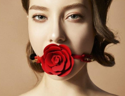 Rose Ball Gag by ZALO