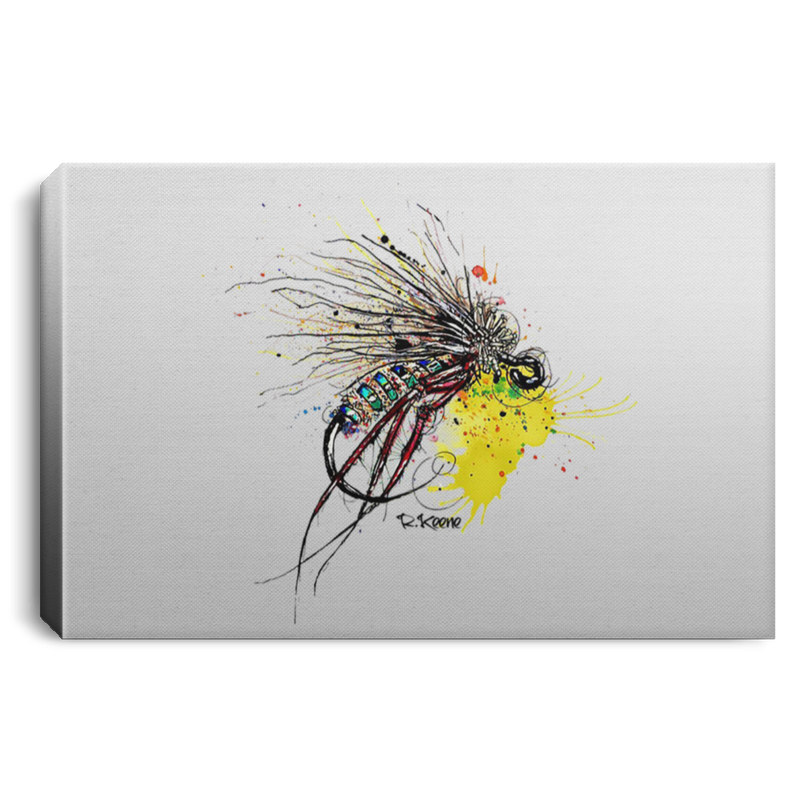 Dapper Dry Fly Canvas Print