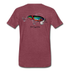 Jitterbug T-Shirt BSN - heather burgundy