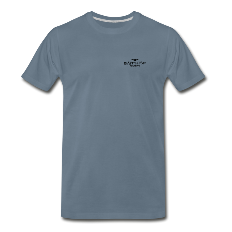 Lure Tree T-Shirt BSN - steel blue