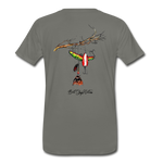Lure Tree T-Shirt BSN - asphalt gray