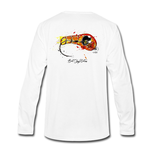 Epoxy Nymph Cotton Long Sleeve T-Shirt BSN - white